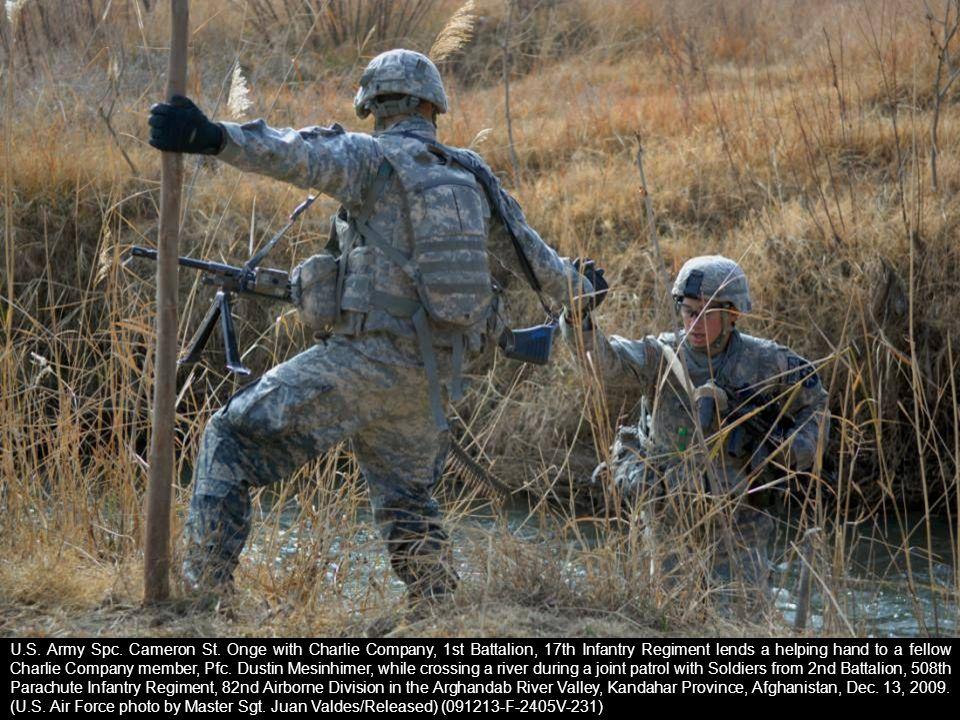 U.S. Army Spc. Cameron St.