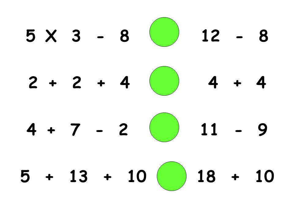X 3 - 8 12 - 8 + 2 + 4 4 + 4.