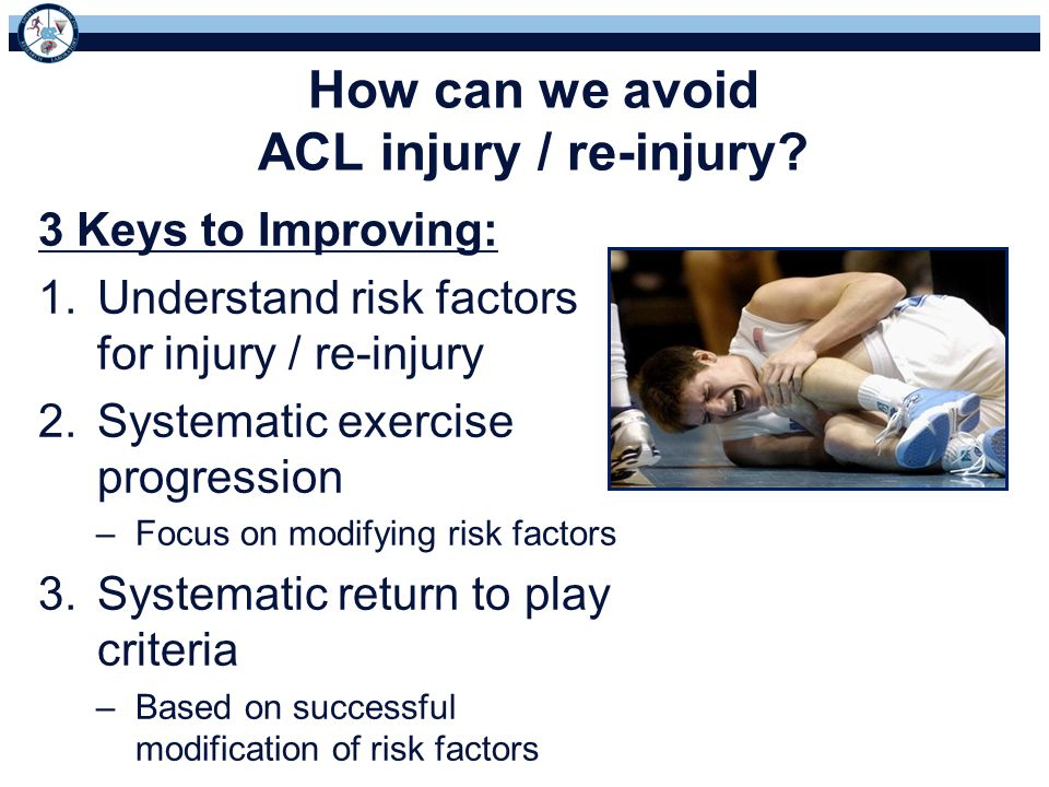How can we avoid ACL injury / re-injury