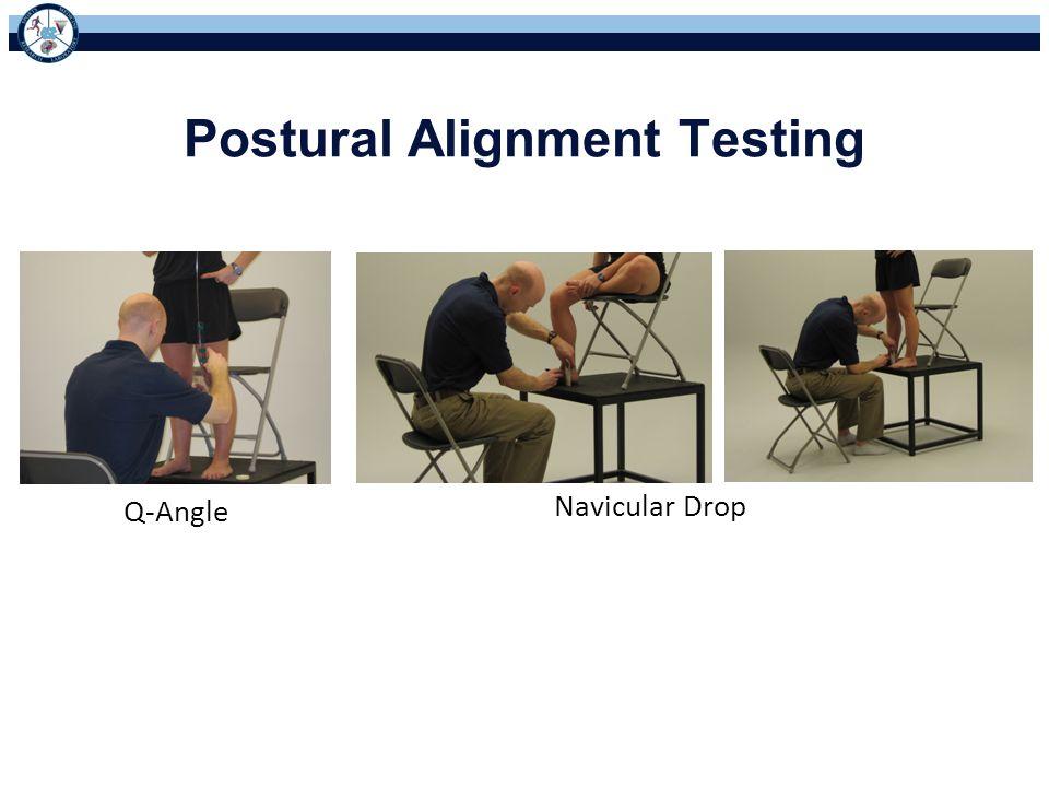 Postural Alignment Testing