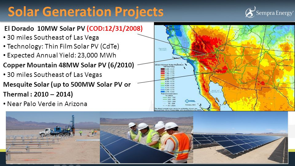 Solar Generation Projects