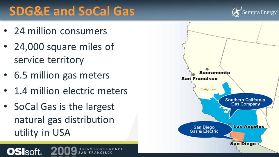 SDG&E and SoCal Gas 24 million consumers