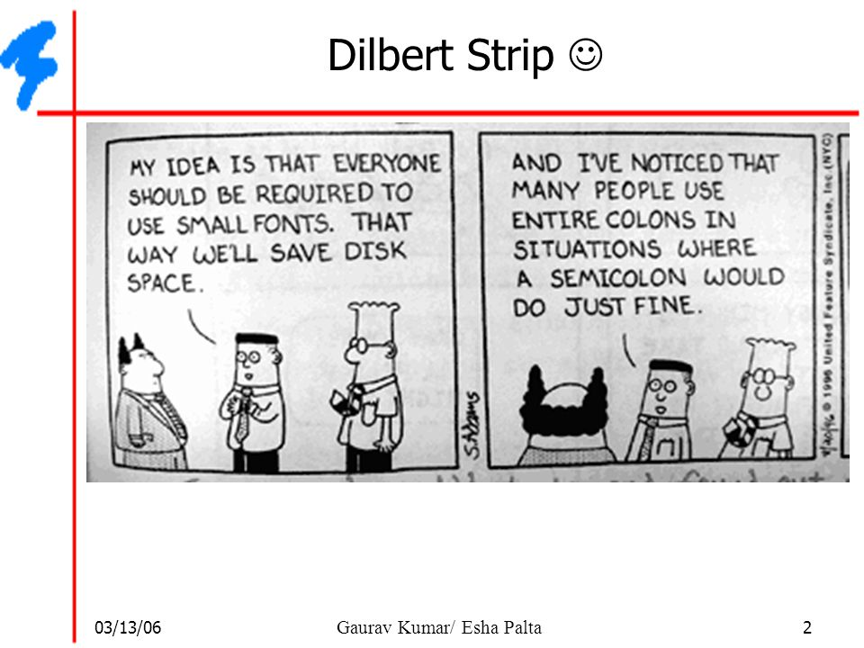 Dilbert Strip 