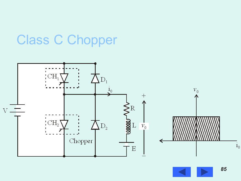 Class C Chopper 85 Prof. T.K. Anantha Kumar, E&E Dept., MSRIT