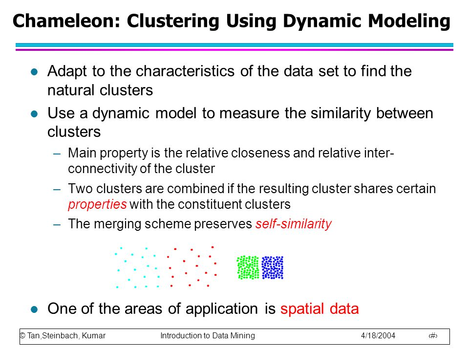 Chameleon: Clustering Using Dynamic Modeling