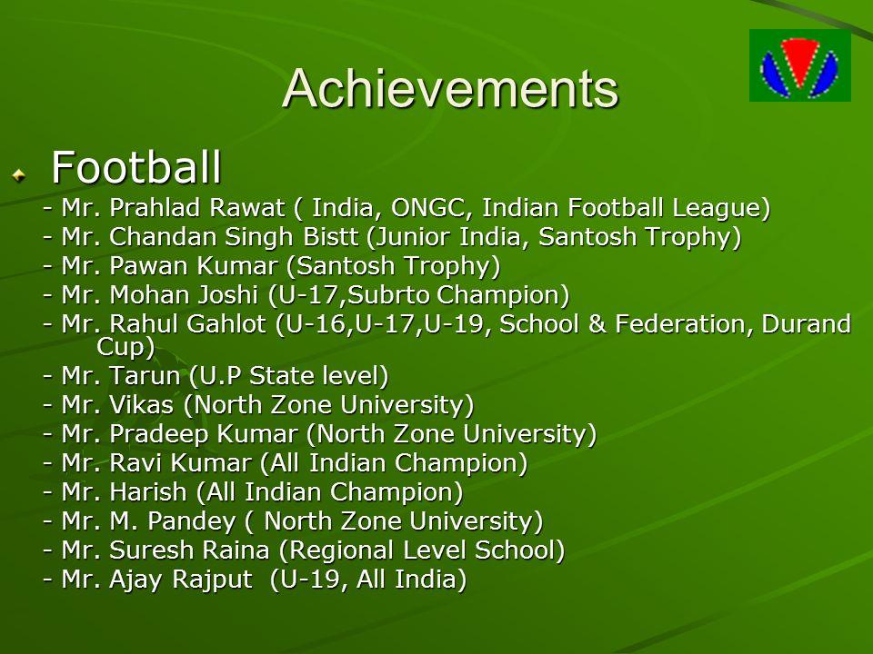 Achievements Football