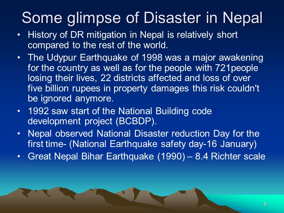 Some glimpse of Disaster in Nepal