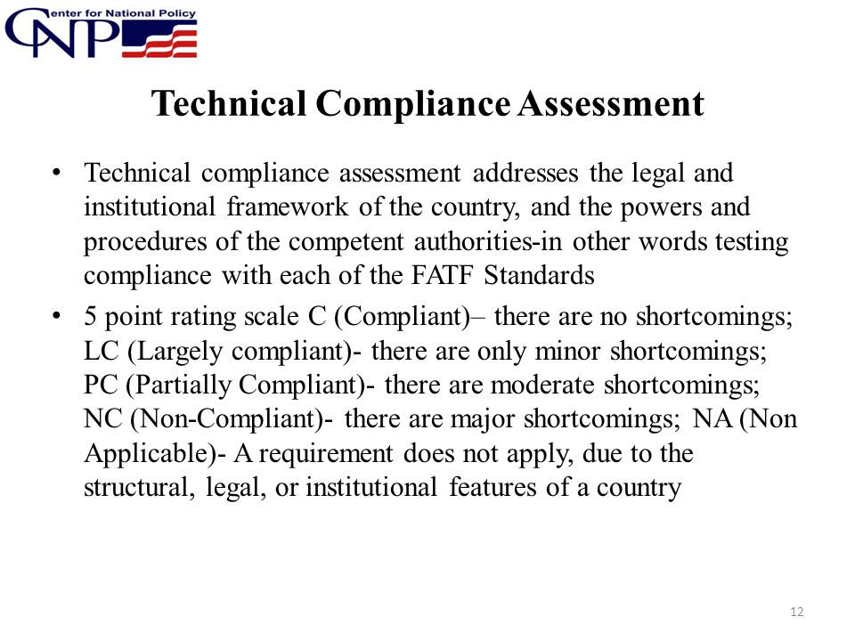 Technical Compliance Assessment
