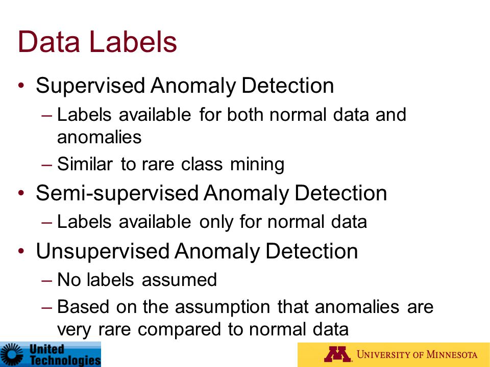Data Labels Supervised Anomaly Detection