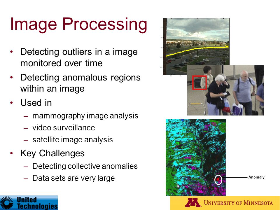 Image Processing Detecting outliers in a image monitored over time