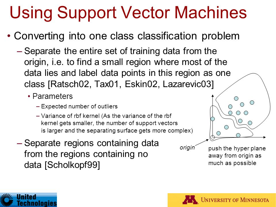 Using Support Vector Machines