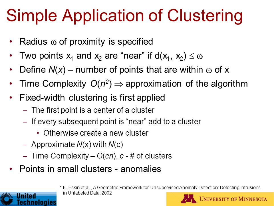 Simple Application of Clustering