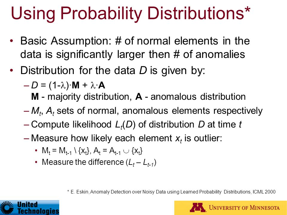 Using Probability Distributions*