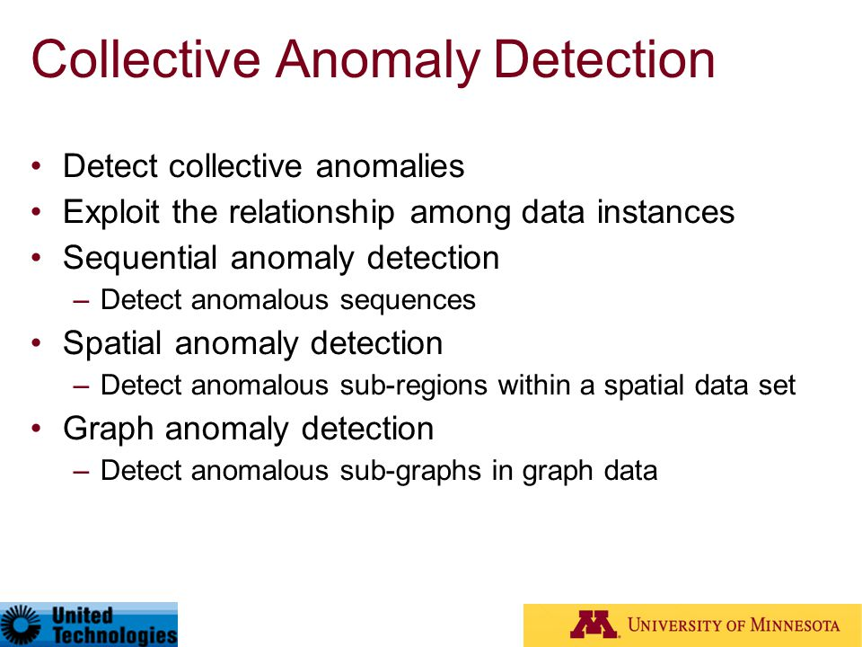 Collective Anomaly Detection
