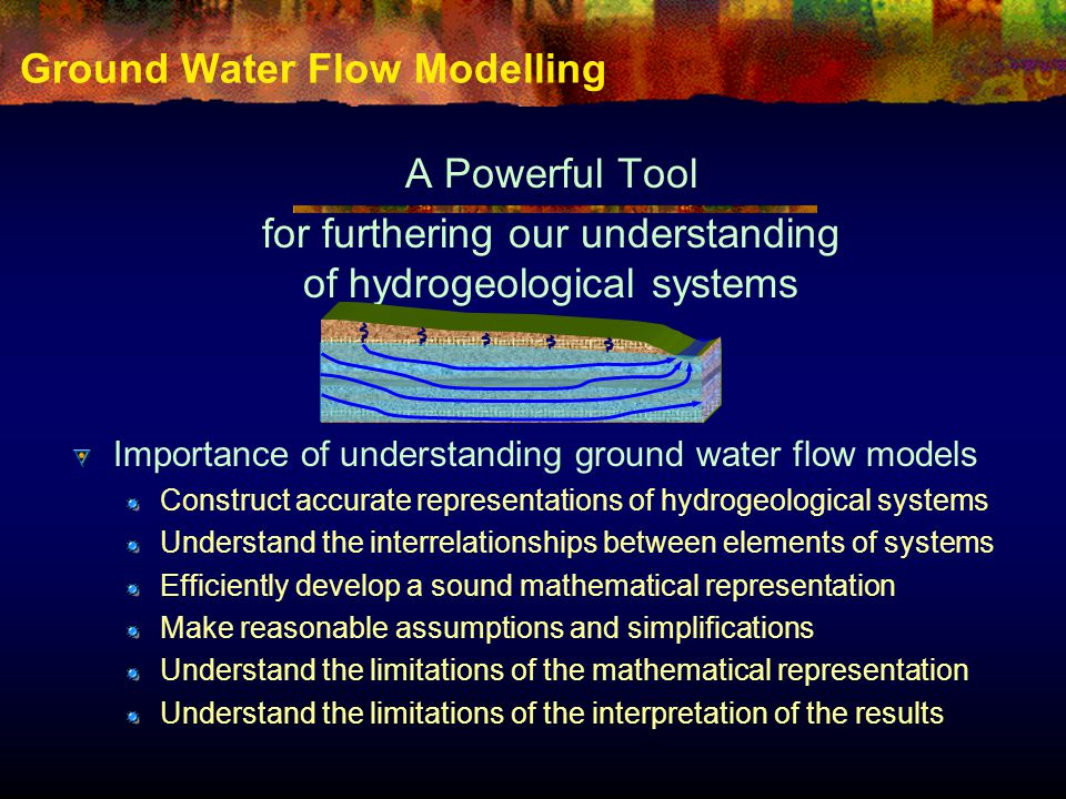 Ground Water Flow Modelling