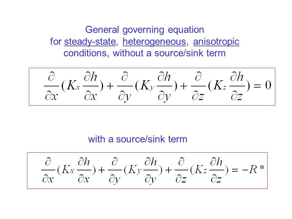 General governing equation
