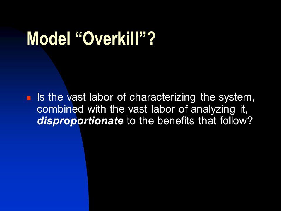 Model Overkill