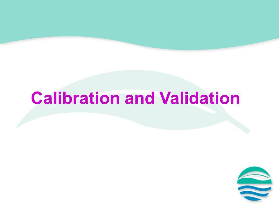 Calibration and Validation