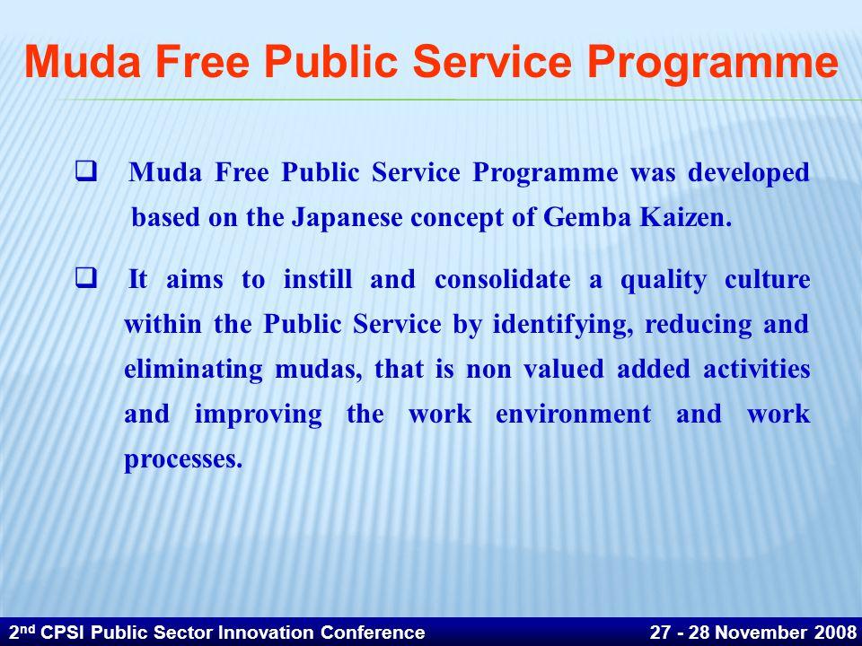 Muda Free Public Service Programme
