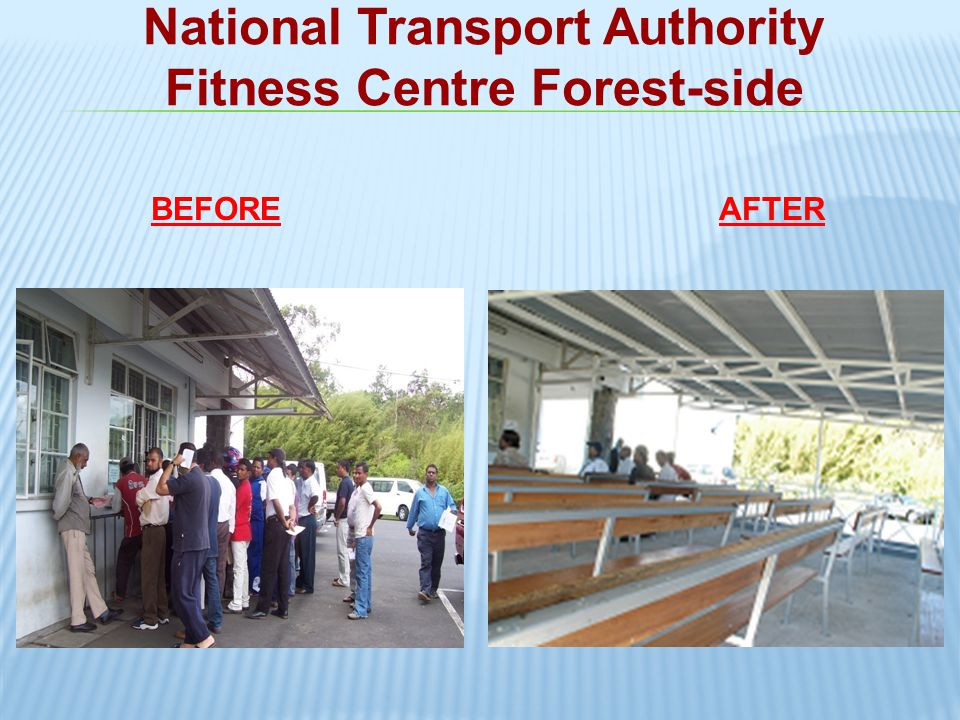 National Transport Authority Fitness Centre Forest-side
