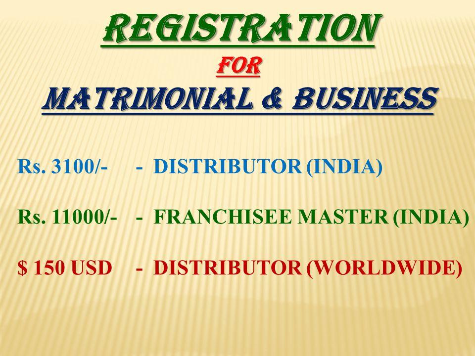 MATRIMONIAL & BUSINESS