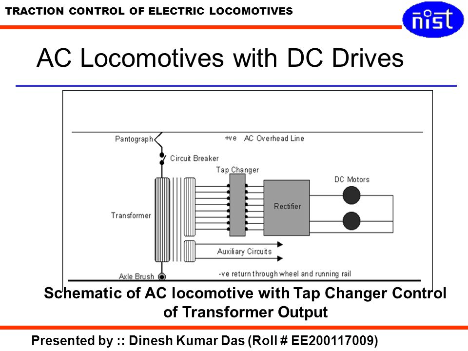 AC Locomotives with DC Drives