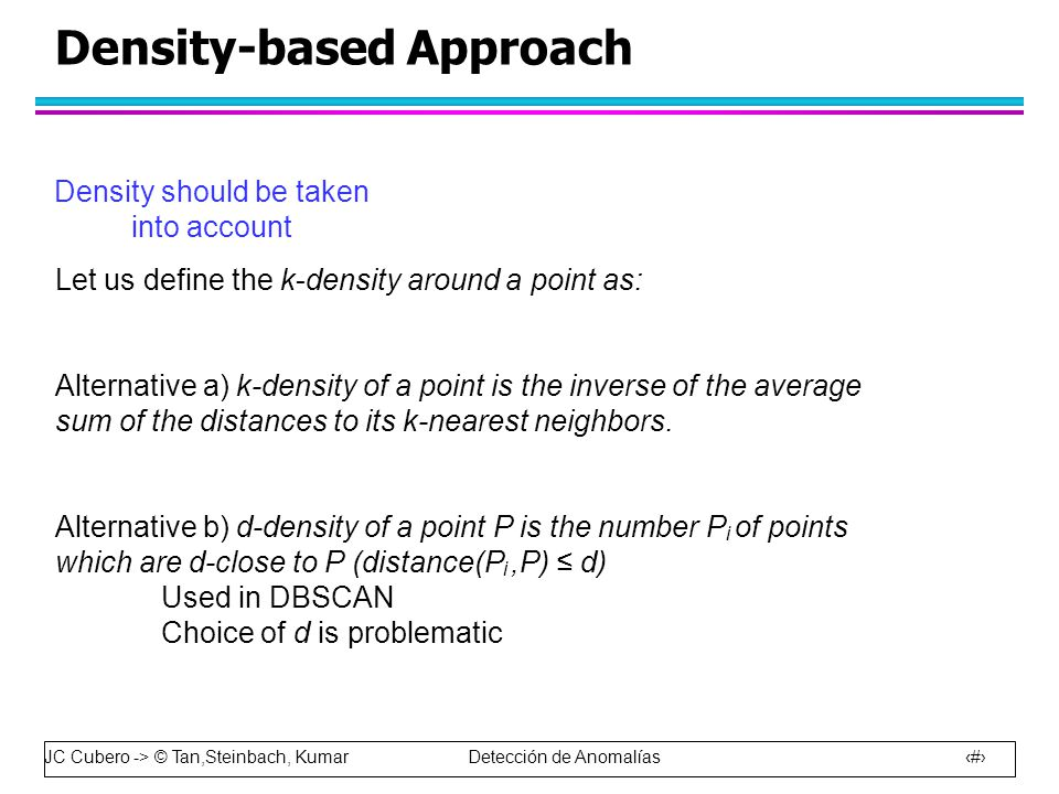 Density-based Approach