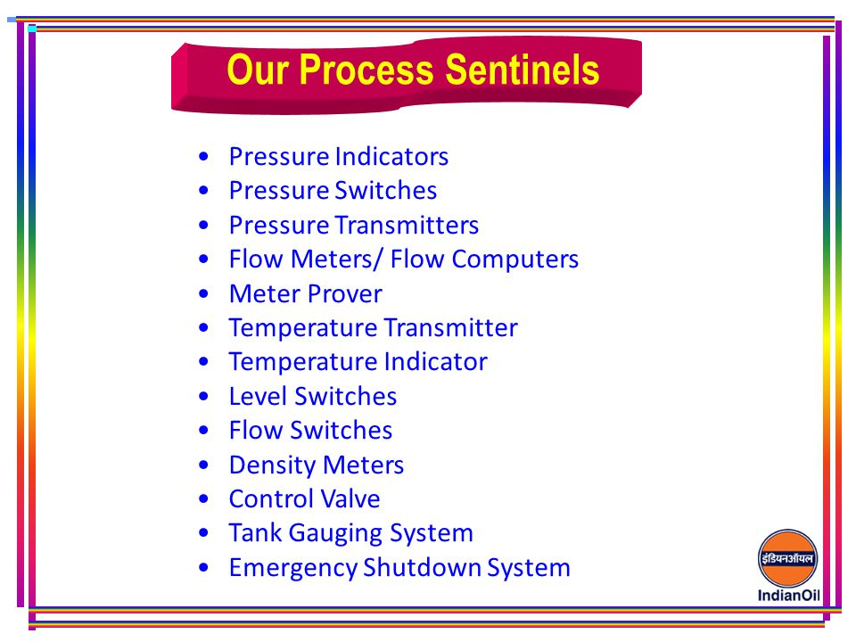 Our Process Sentinels Pressure Indicators Pressure Switches