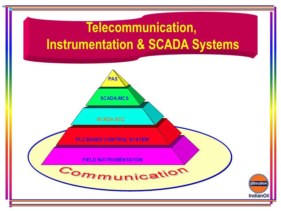 Telecommunication, Instrumentation & SCADA Systems