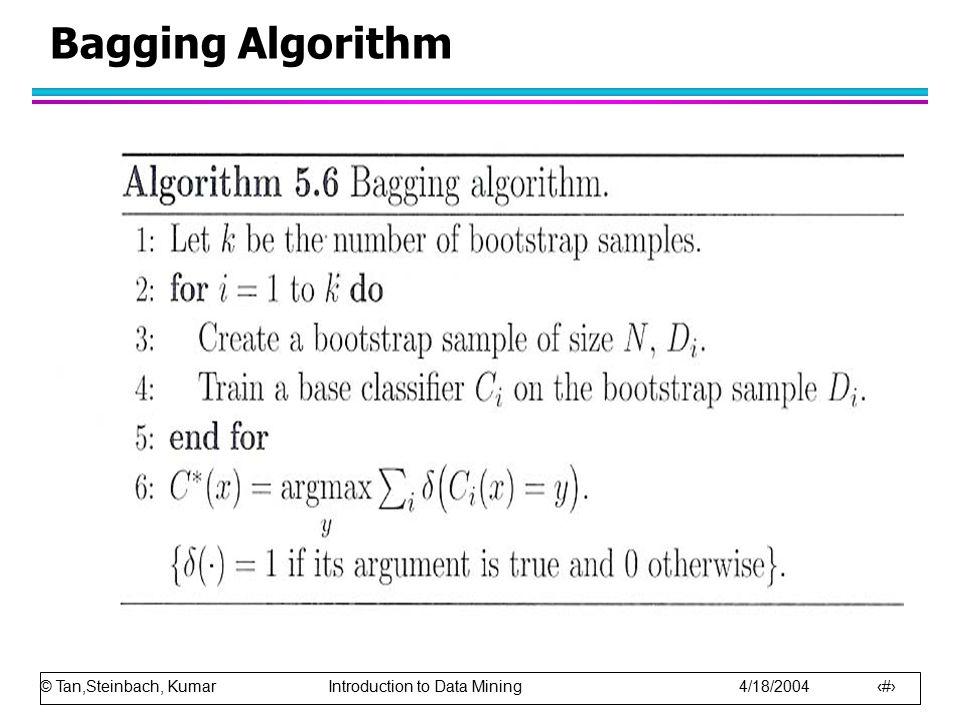 Bagging Algorithm
