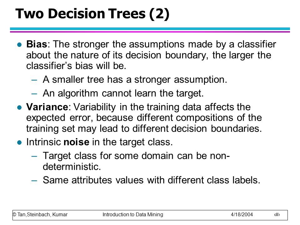 Two Decision Trees (2)