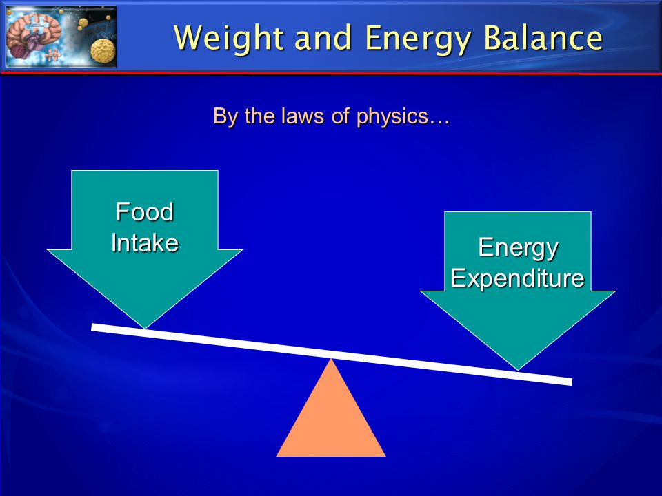 Weight and Energy Balance
