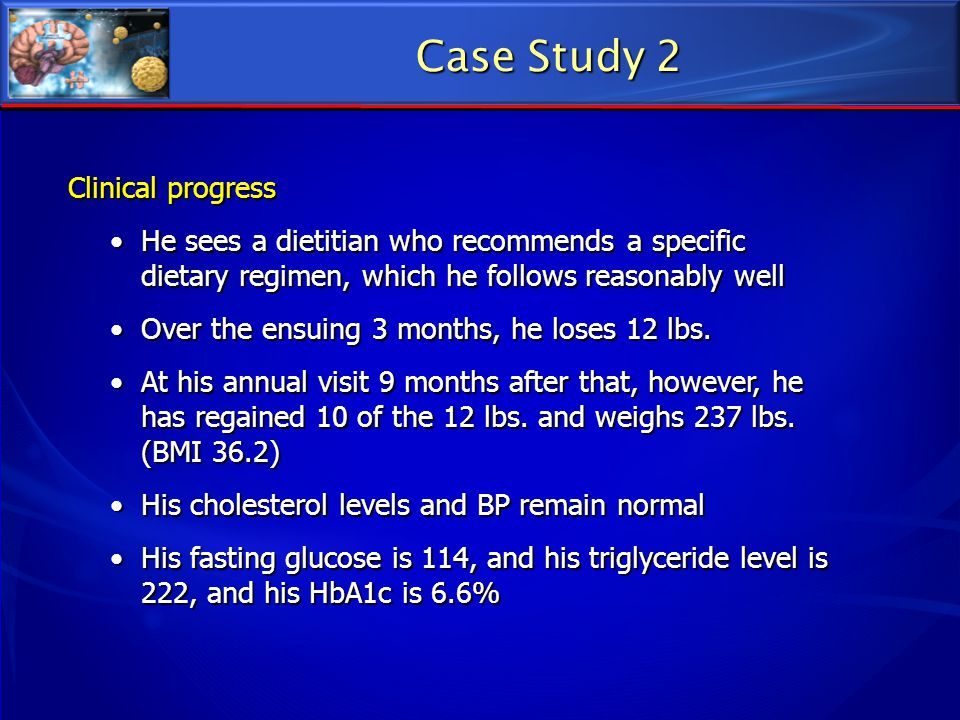 Case Study 2 Clinical progress