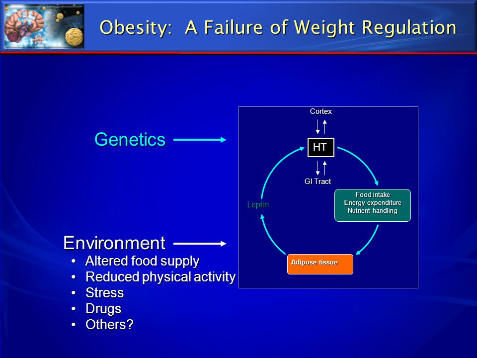 Obesity: A Failure of Weight Regulation
