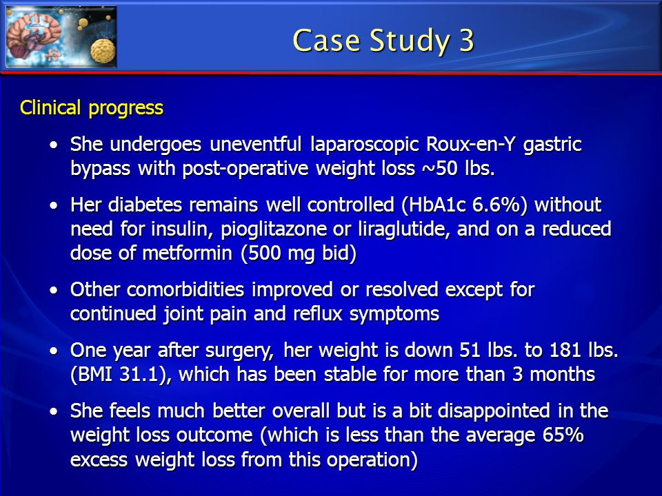 Case Study 3 Clinical progress