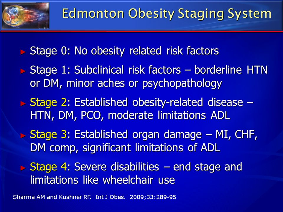 Edmonton Obesity Staging System