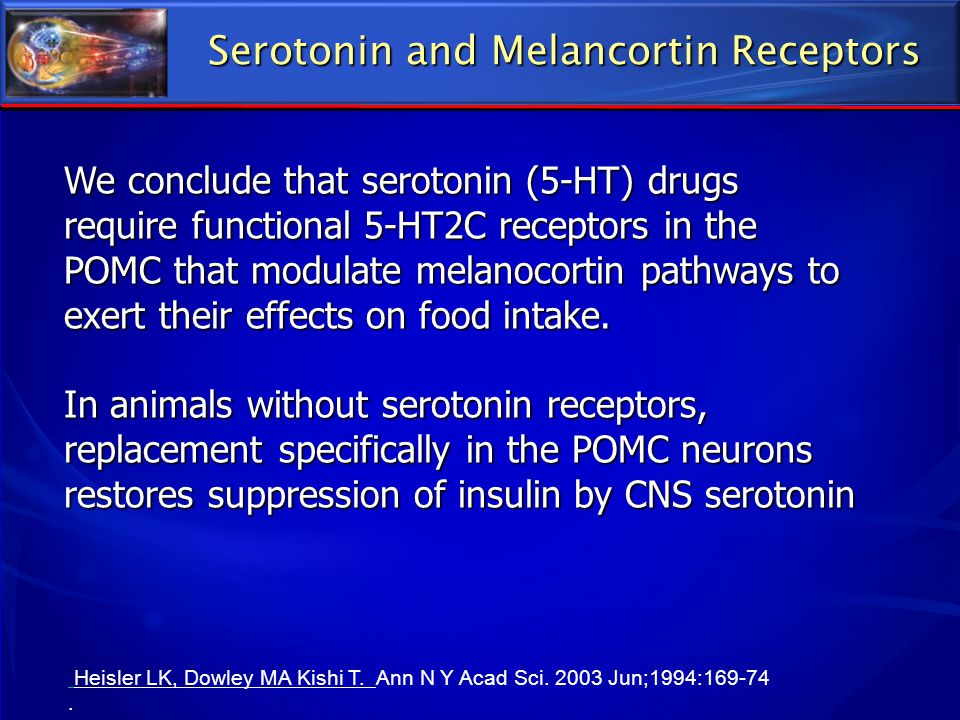 Serotonin and Melancortin Receptors
