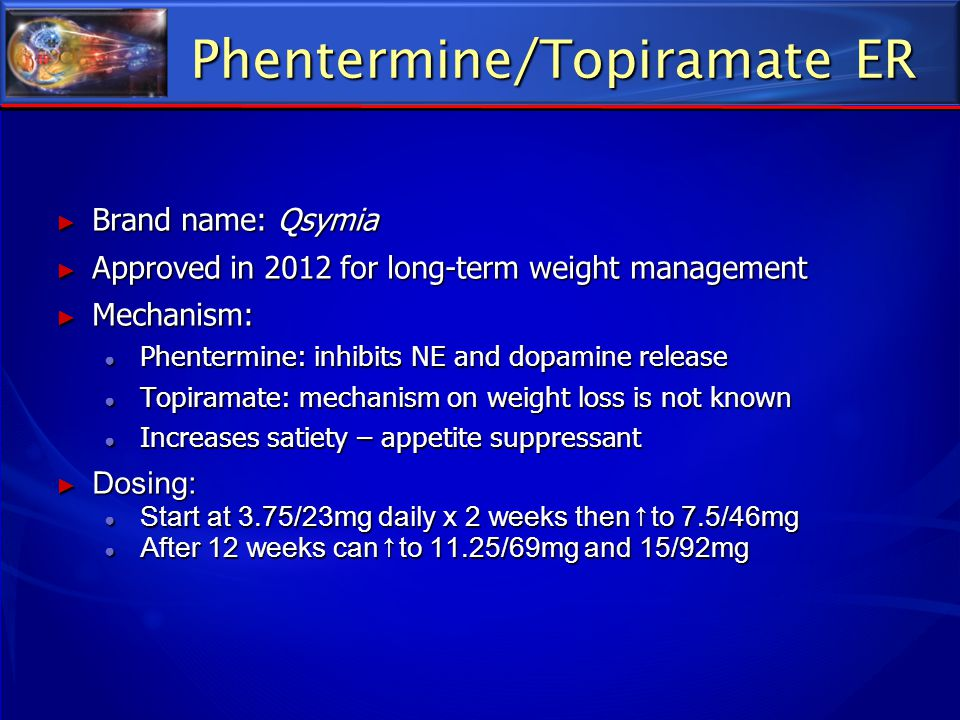 Phentermine/Topiramate ER