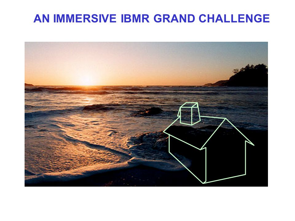 AN IMMERSIVE IBMR GRAND CHALLENGE