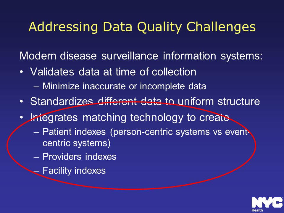 Addressing Data Quality Challenges