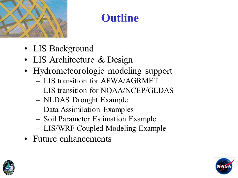 Outline LIS Background LIS Architecture & Design