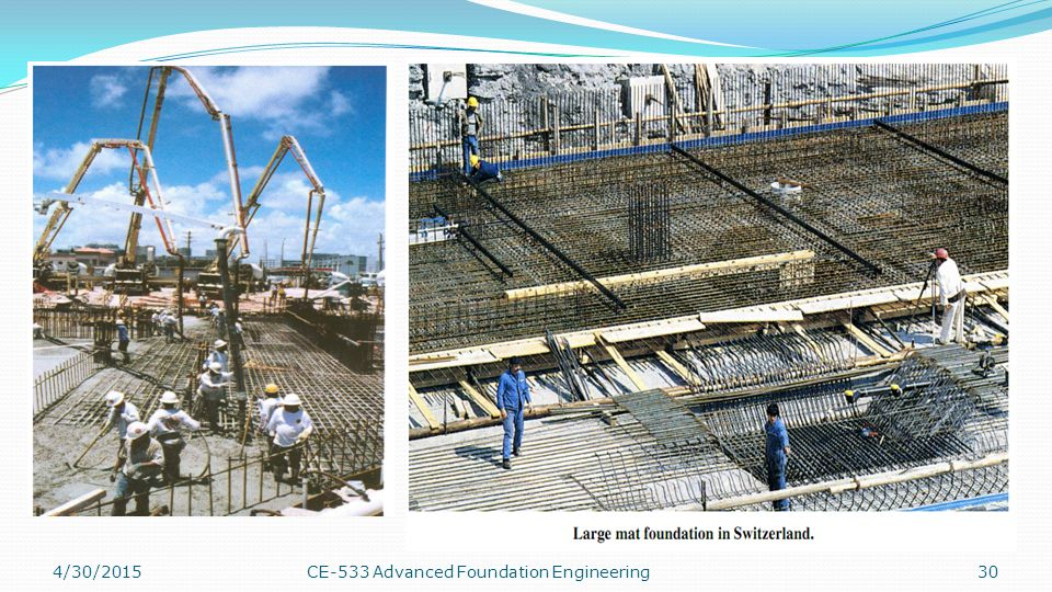 4/13/2017 CE-533 Advanced Foundation Engineering