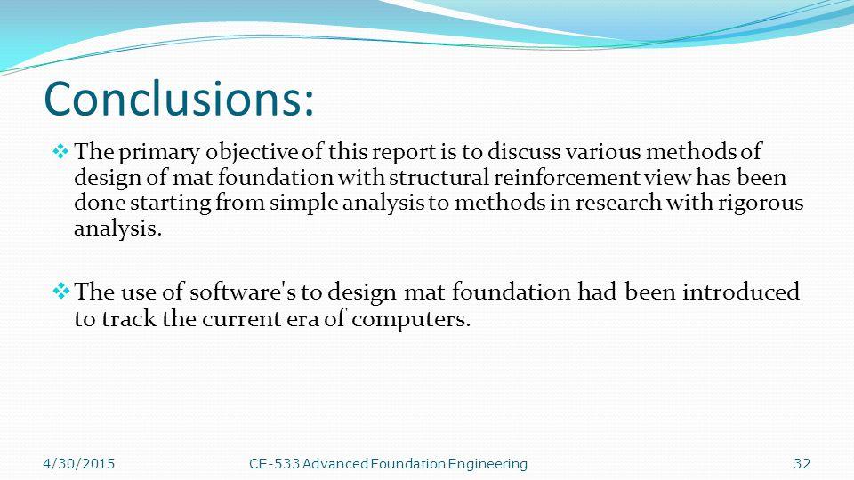 Structural Design Of Mat Foundation
