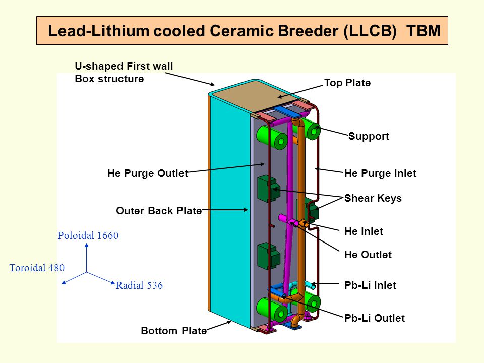 Lead-Lithium cooled Ceramic Breeder (LLCB) TBM