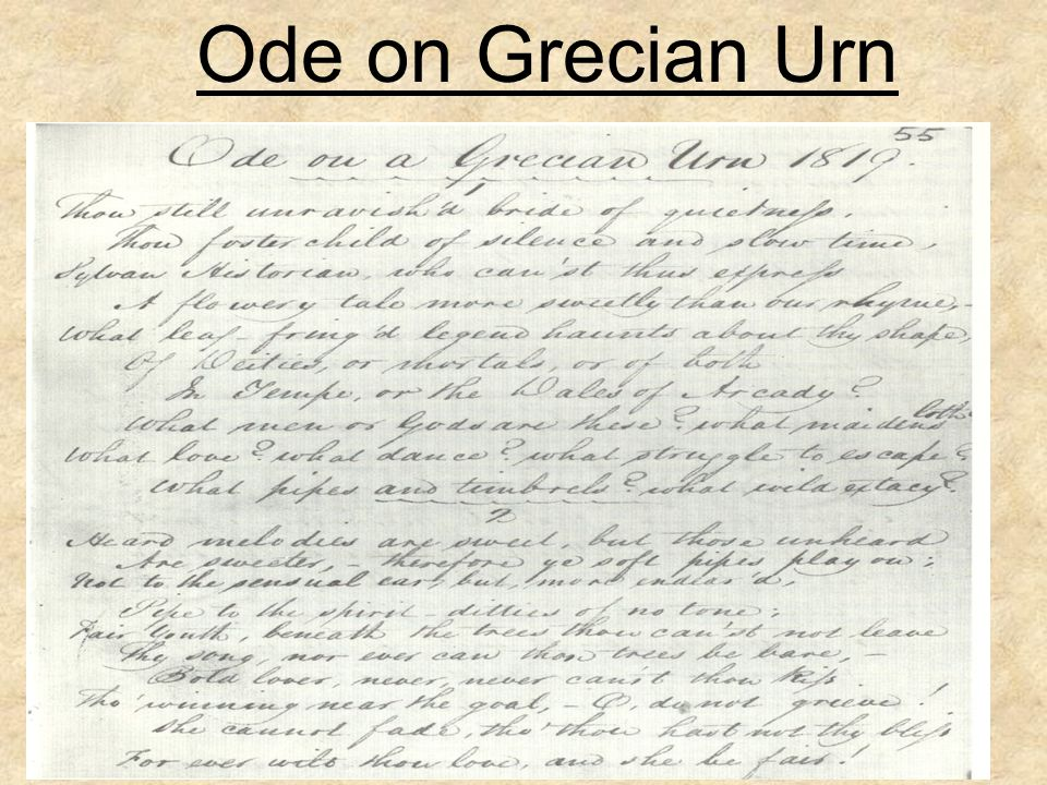 Ode on Grecian Urn