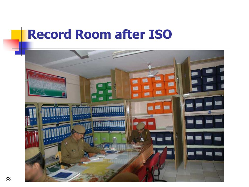 Record Room after ISO