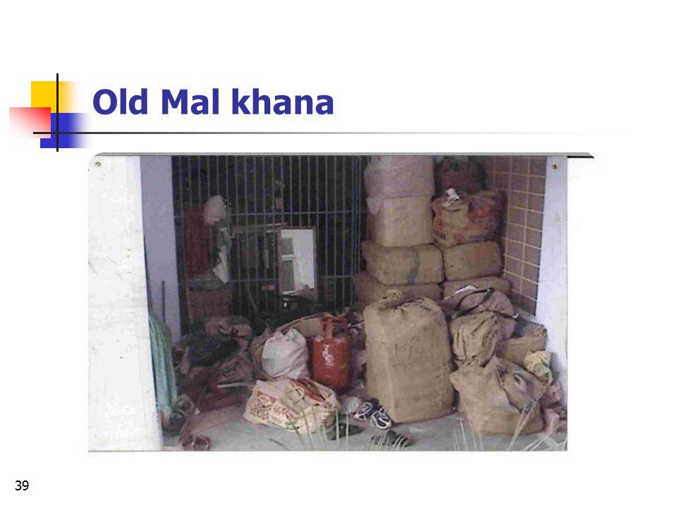 Old Mal khana
