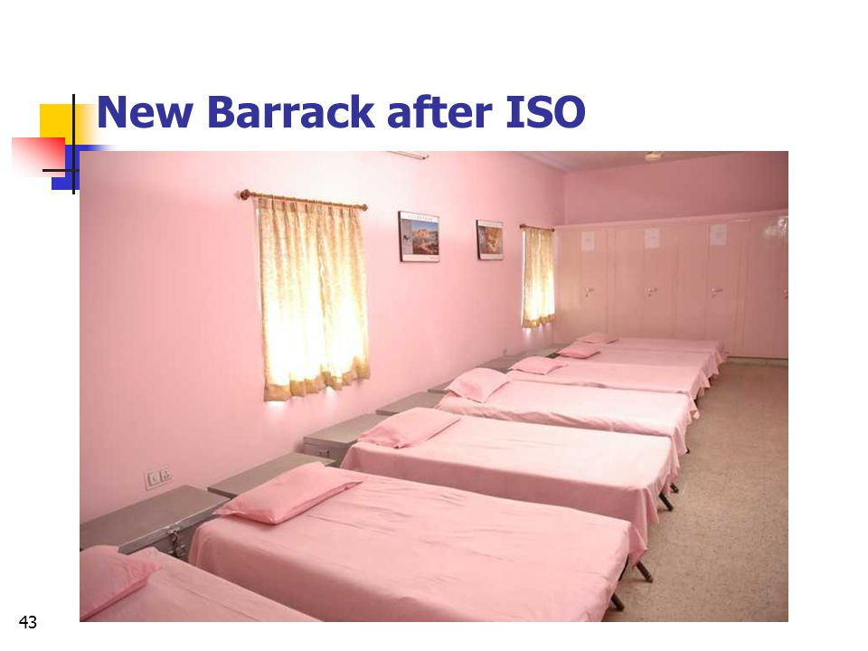 New Barrack after ISO