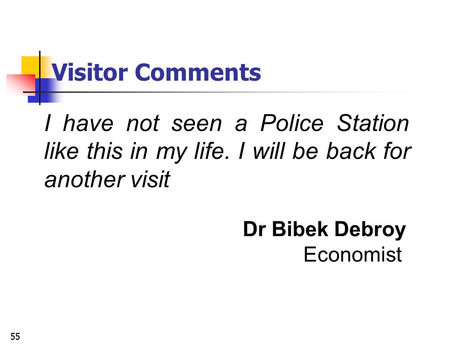 Visitor Comments I have not seen a Police Station like this in my life. I will be back for another visit.