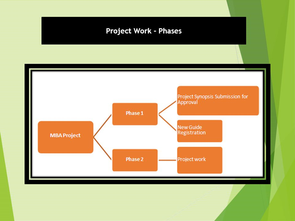 Project Work - Phases